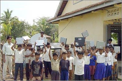 Elaine & Nicholas Negroponte School in Reaksmy, Cambodia