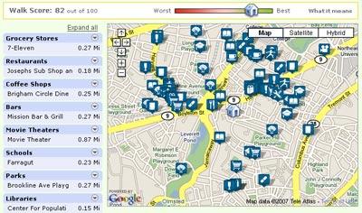 Walkability Score
