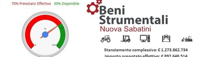 "Beni strumentali (""Nuova Sabatini"")"