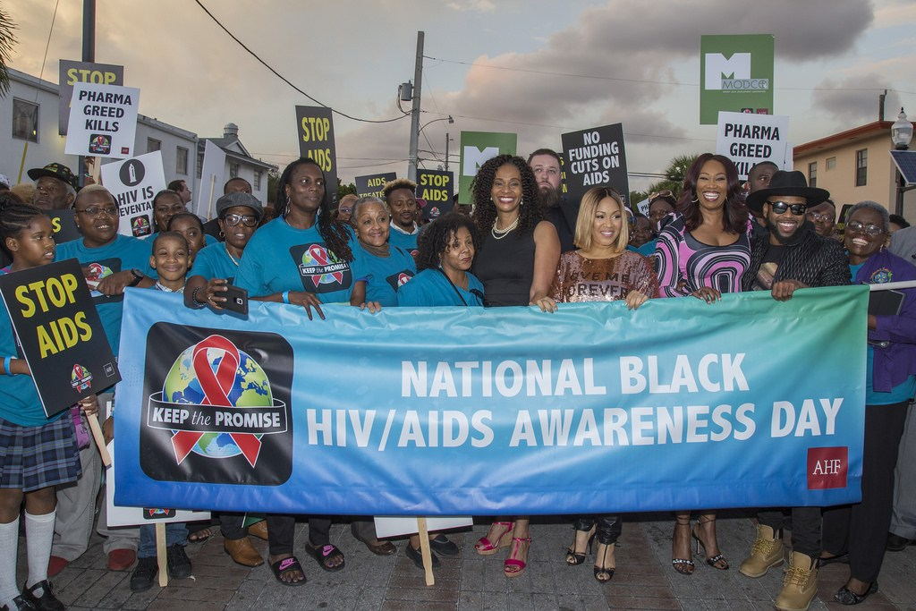 "PHOTOS: AHF Holds ""Keep the Promise Concert & March"" in Ft. Lauderdale in Recognition of National Black HIV/AIDS Awareness Day"