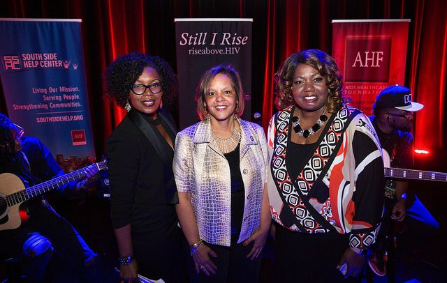 U.S. Rep. Robin Kelly, R&B Stars Raheem DeVaughn, Goapele Join Forces with AHF and South Side Help for RISE Above Chicago