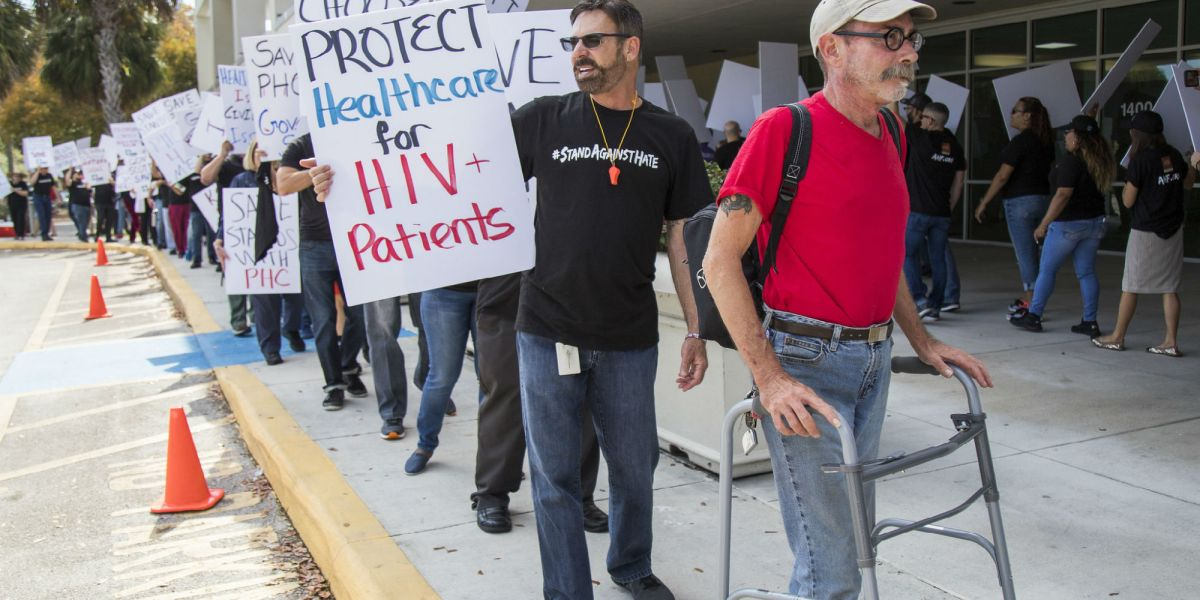 Broward County HIV Protest: Florida Medicaid Contract Denial Will Disrupt Health Coverage, Care for Thousands