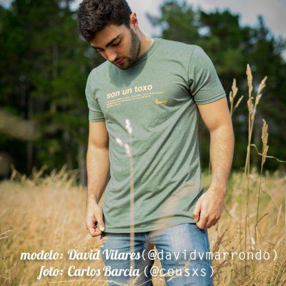 camiseta son un toxo verde