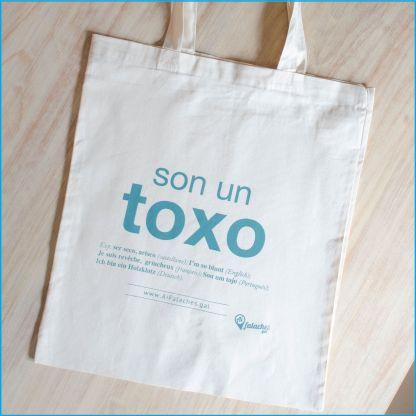 Tote bag SON UN TOXO