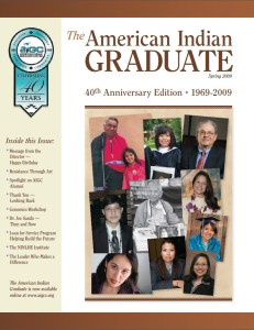 The American Indian Graduate Magazine Srping 2009
