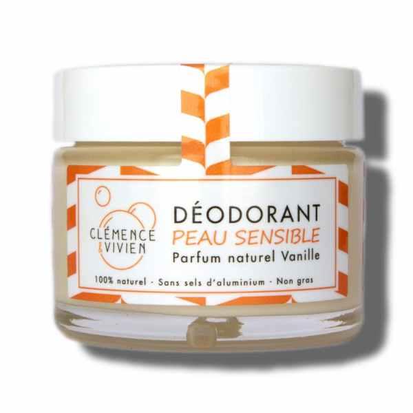 déodorant naturel peau sensible vanille