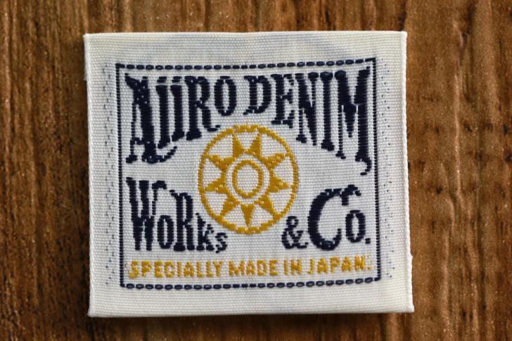 レーヨン製の織りネーム