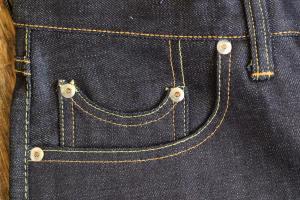 ジーンズのコインポケット