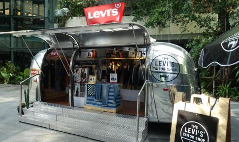 LEVI'S 501 TAILOR TRUCK