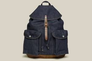 RRL Riley Denim Rucksack