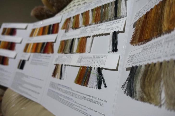 ジーンズの綿糸の烏城物産