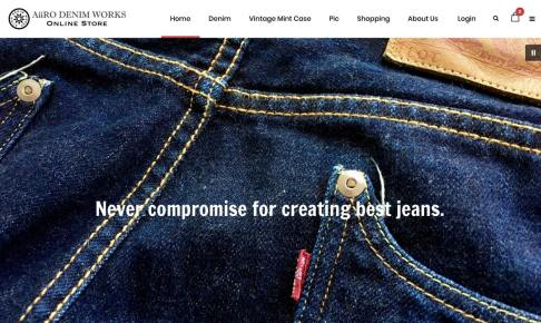AiiRO DENIM WORKS online store