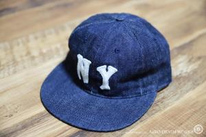 EBBETS FIELD FLANNELS×WAREHOUSE DENIM CAP