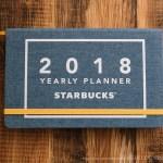 STARBUCKS MOLESKINE PLANNER2018
