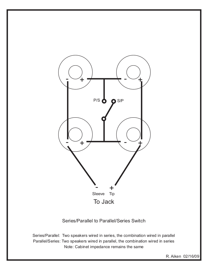 Marshall 4x12 Wiring Diagram Guitar Speakers In Series Or Parallel Free Download Cabinet Xwiaw Us