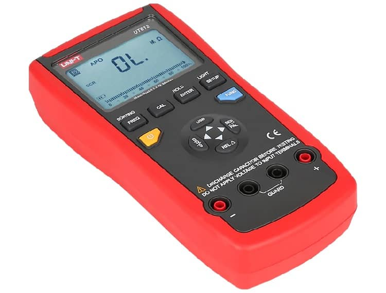 Measurement Frequency in LCR Meter