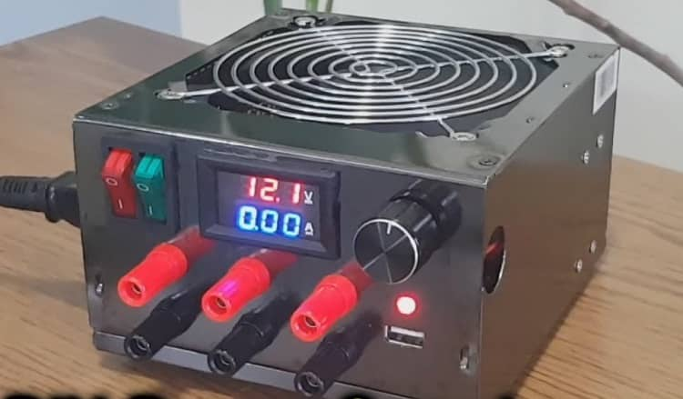 A Bench Power Supply