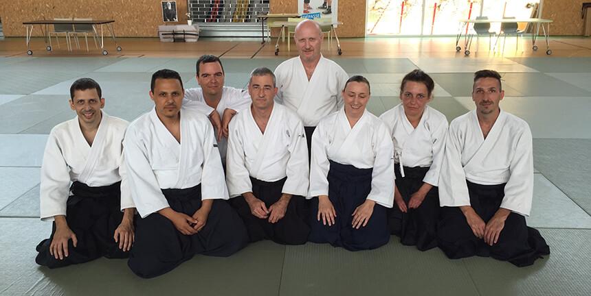 Les candidats du Stade Laurentin et quelques amis