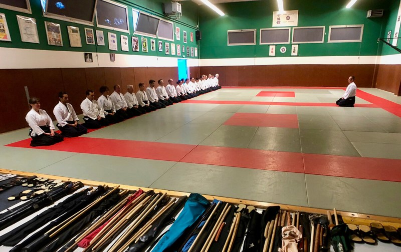 Ecole régionale organisée par le comité inter-départementale Côte d'Azur d'aïkido