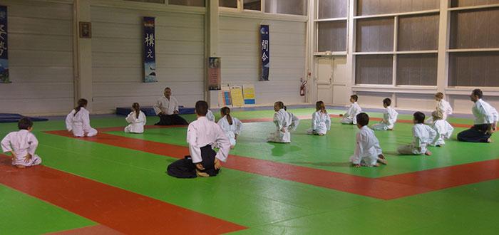Aïkido Club Fontaine-lès-Dijon Initiation enfants