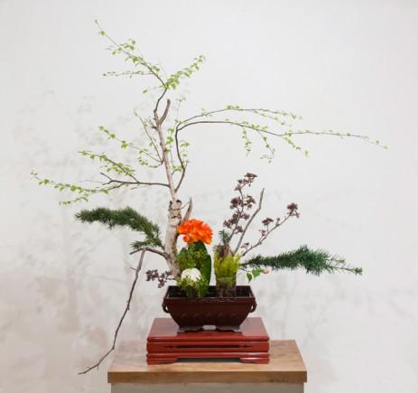 Du 23 au 25 mars : exposition d'Ikebana – Printemps