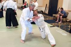 Deshis training in Joseph Nemeth's class