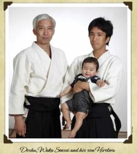Ueshiba family portrait