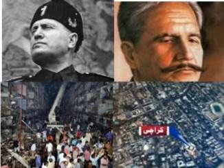 مسولینی، اقبال اور کراچی