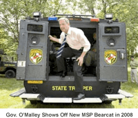 governor omalley bearcat