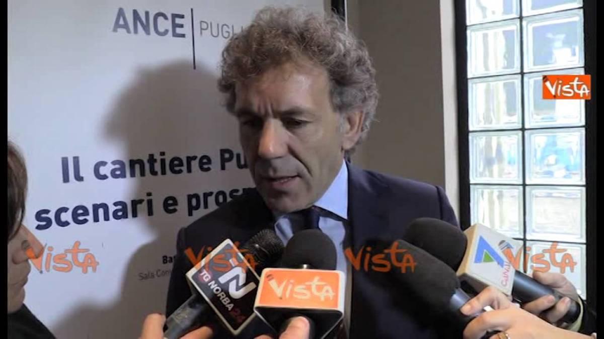 """L'Ance inaugura il """"cantiere Puglia"""": """"Puntare sull'edilizia per rilanciare l'economia"""""""