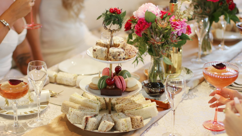 sunshine coast high tea catering aimee provence