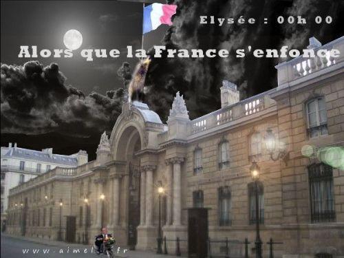 La France s'enfonce