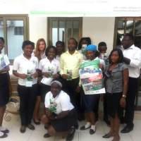 Visite des élèves du british school au siège de AIMES-AFRIQUE