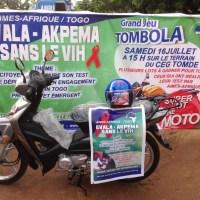 Evala-akpéma 2017 AIMES-AFRIQUE dit non au VIH/SIDA