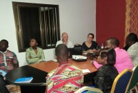 Présentation du rapport de travail des deux experts de « MANAGERS SANS FRONTIERE » annonçant la fin de leur mission au sein de AIMES-AFRIQUE