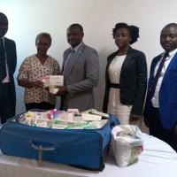 MOBILISATION DES RESSOURCES MATÉRIELLES : L'association LA GAZELLE fait un don de médicaments à AIMES AFRIQUE