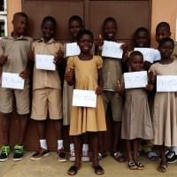 Tournée nationale dans les 10 villages de AIMES-AFRIQUE (parrainage des élèves, inauguration de cantine scolaire, suivi des projets)