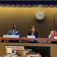 L'APPEL DE GENEVE SUR LE DROIT A LA SANTE DES PAYSANS ET DES PERSONNES TRAVAILLANT EN ZONES RURALES EN AFRIQUE, ce document de plaidoyer résultant de la conférence de AIMES AFRIQUE à Genève