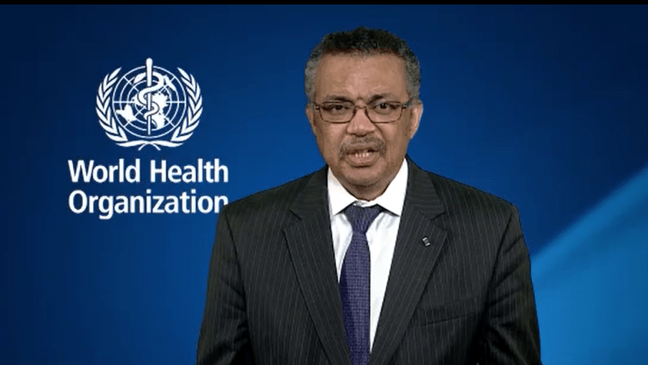 Message du Directeur Général de l'OMS Dr Tedros Adhanom pour marquer son soutien à la conférence de AIMES AFRIQUE