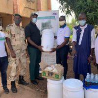 Lutte contre la COVID-19 : La Représentation malienne de AIMES-AFRIQUE appuie la prison de Koulikoro