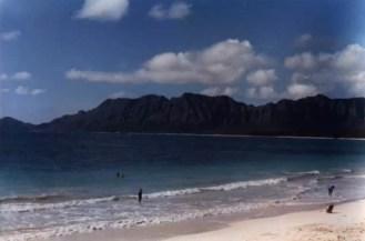 Bellows AFS Beach - Waimanolo, Oahu, Hawaii.