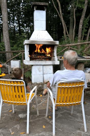 Un pomeriggio con il nonno