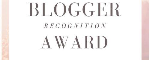 BLOGGER RECOGNITION AWARD NOMINATION: blog da leggere!