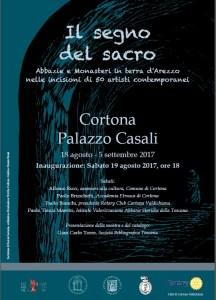 IL SEGNO DEL SACRO - Cortona - 18 agosto - 5 Settembre 2017 @ PALAZZO CASALI | Cortona | Toscana | Italia