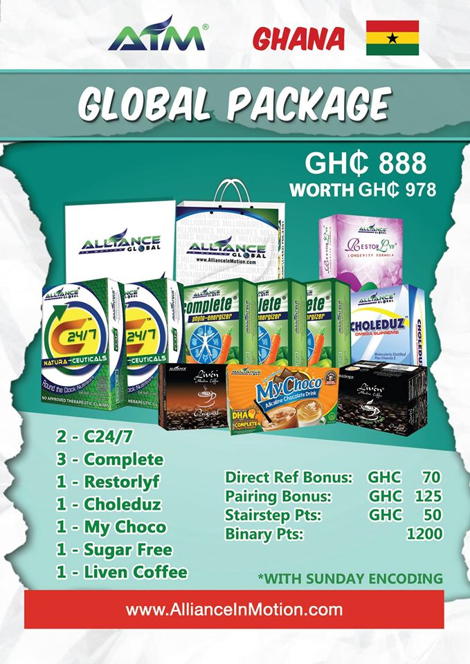 AIM GLOBAL GHANA GLOBAL PACKAGE