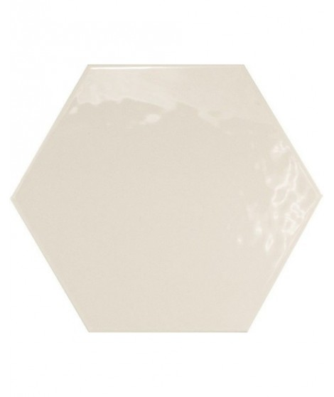 carrelage mural equipe hexatile blanc brillant 17 6x20 1