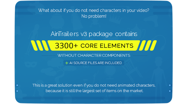 AinTrailers | Explainer Video Toolkit with Character Animation Builder - 72