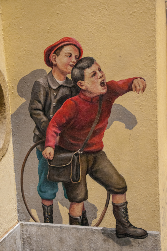 Kale artea Neuchatelen (Street Art in Neuchatel)