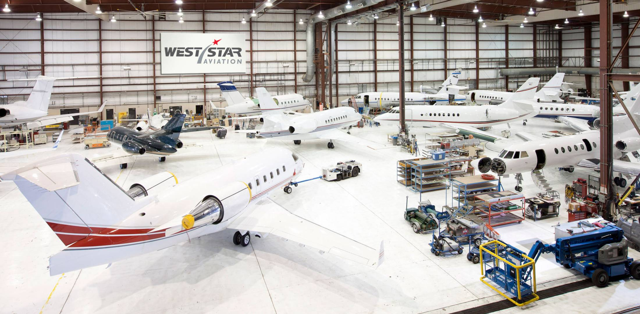 West Star Aviation Outlines Expansion Plans   Business Aviation News     West Star Aviation s East Alton  Illinois location is the site of the new     Hangar 66    expansion  slated for completion in Q3 of 2018