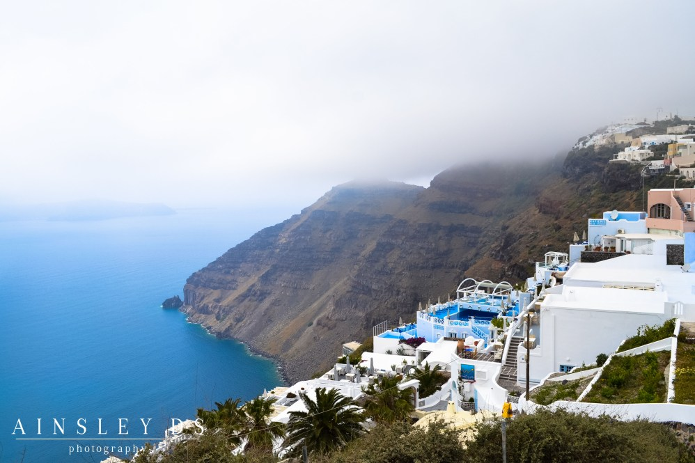 Santorini Island, Greece. Travel Blogger and Photographer Ainsley About The world